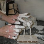 Sculpture classes in Essex with Billie Bond